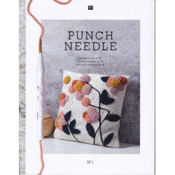Βιβλίο με σχέδια PUNCH NEEDLE