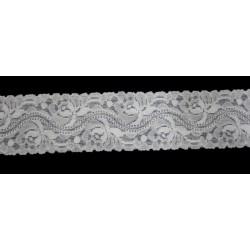 White wide Lace 6179