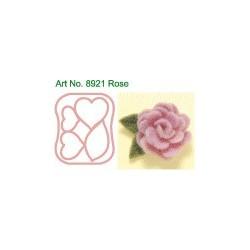 καλουπάκια τσόχας-τριαντάφυλλο