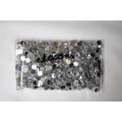 Πέτρες ασημί 6-8mm (1000 τεμ)