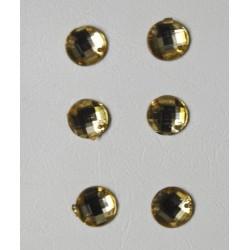 Πέτρες χρυσό 6-8mm (1000 τεμ)