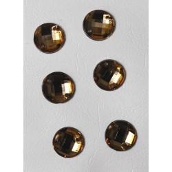 Πέτρες μπρονζέ 6-8mm (1000 τεμ)