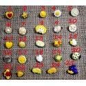 Παιδικά κουμπιά Κίτρινα