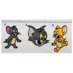 Θερμοκολλητική στάμπα Tom&Jerry