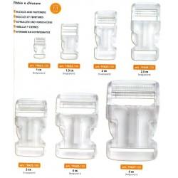 Διάφανο Πλαστικό Κούμπωμα