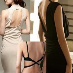 Waist strap for low back dresses