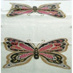 """Σχέδιο """"Πεταλούδα"""" τυπωμένο πολύχρωμο."""