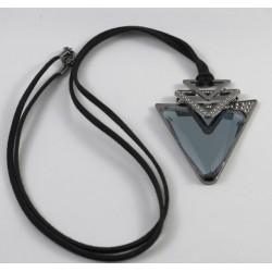 Κολιέ τρίγωνη πέτρα(84608-1)