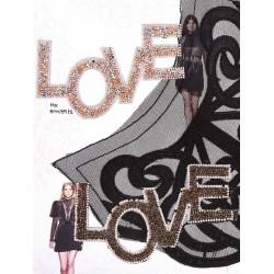 """Θρμοκολλητικό """"LOVE"""""""