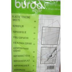 Plastic tracing sheets Burda