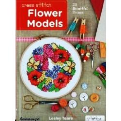 Μοτίφ λουλουδιών για κέντημα