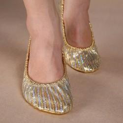 Παπουτσάκια χορού χρυσά