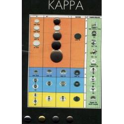 Πρεσαριστά κουμπιά KAPPA