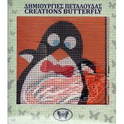 Παιδικό καδράκι πιγκουίνος