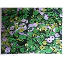 Plastic Spangles - green