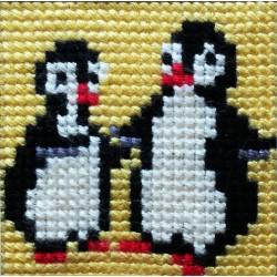 Καδράκι πιγκουινάκια