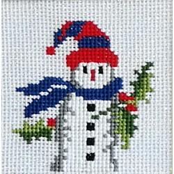Καδράκι χιονάνθρωπος