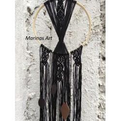 Διακοσμητικό τοίχου σε μαύρο χρώμα